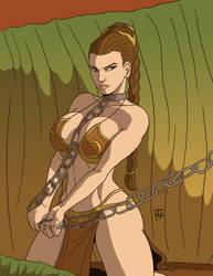 Slave Leia by Taynor-Hook