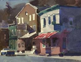 Main street rosendale by staatsf