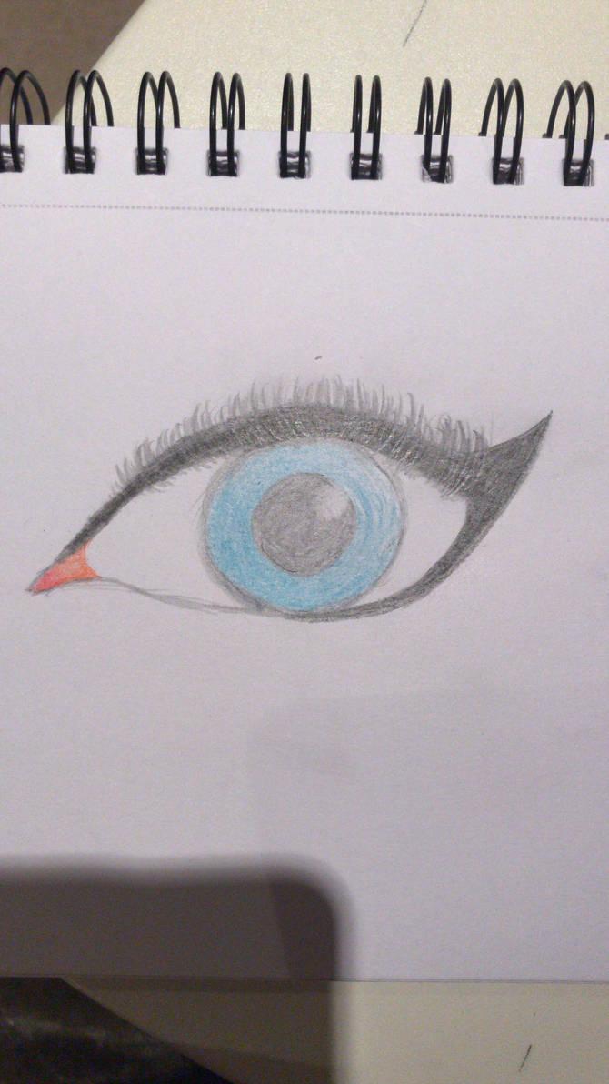 I coloured the Eye by Abiisartsy