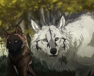 Startled beast by Canis-ferox