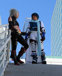 Ovan and Haseo 5 by Fonzeworth