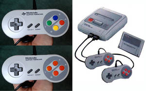 Super Famicom Prototype Controller Mock up by TerraRISE