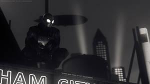 Spider-Man [Noir] (Black and White) by Cpt-Sourcebird