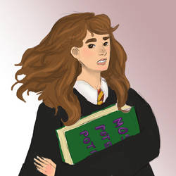 Hermione by radvelii