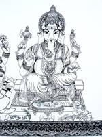 Ganesha by msilvestre