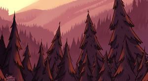the forest by GabiTozati