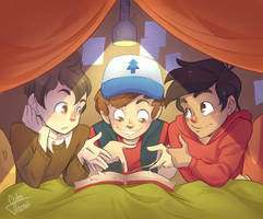 nerd sleepover by GabiTozati