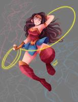 Wonder Woman by GabiTozati