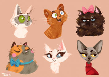 Kitties Invasion pt. 2! by GabiTozati