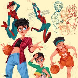 May Parker, the Spidergirl by GabiTozati