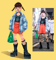 Tokyo Fashion by GabiTozati