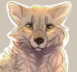 Wolf by xAlyDrawzx