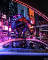 SPIDERMAN - INTO THE SPIDERVERSE by iMizuri