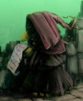 Newspaper Goblin by GoblinHood