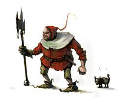 big red riding hood by GoblinHood