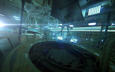 Lab interior. Cam_02. by Shelest