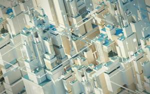 Cyber City. 3d - 05. by Shelest