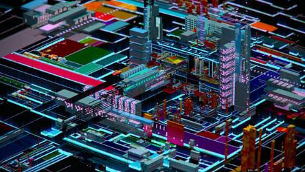CyberCity #.008 by Shelest