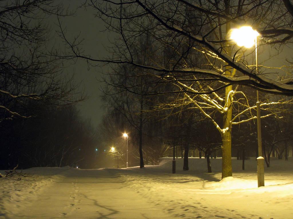 Winterpath II by Helkathon