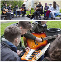 Street Music Day 2015: Theory of Big Band by Helkathon