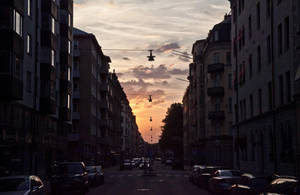 Evening Stockholm by Helkathon