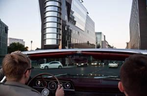 Berlin aus Cabriolet by Helkathon