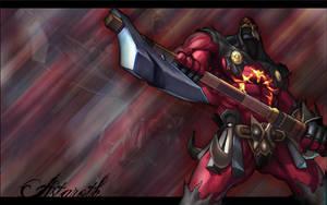 Soul Calibur III - Astaroth by llbd