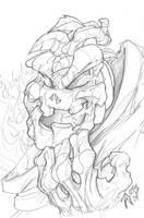 Pumkin Demon by heck13r