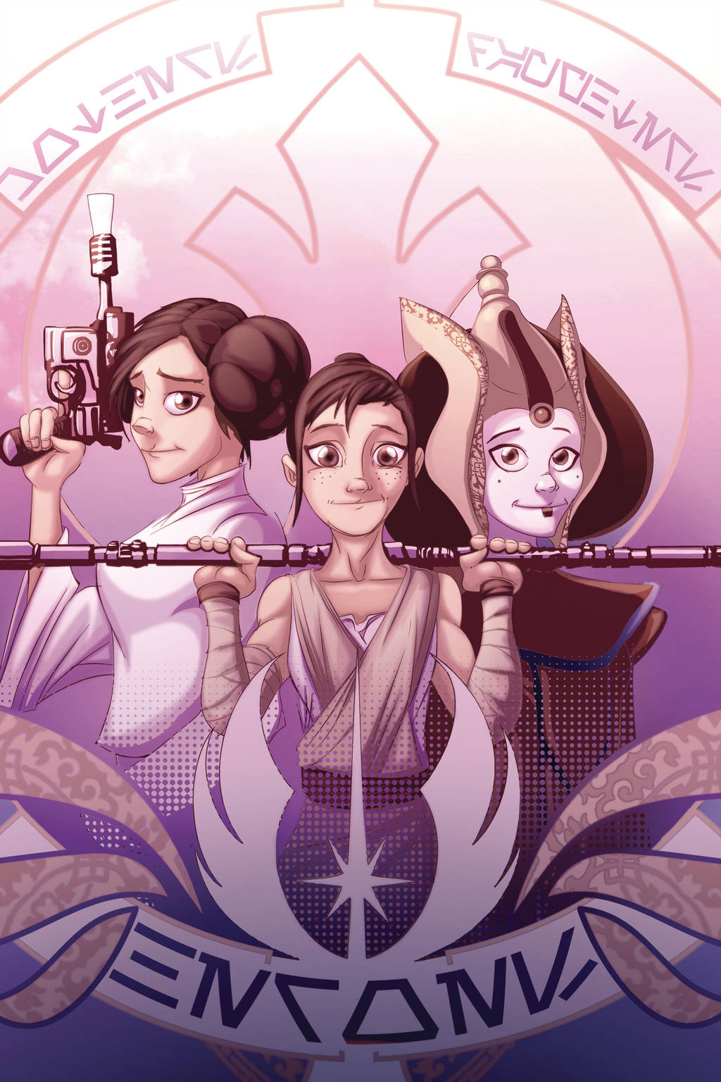 Mothers, Daughters, heroes by heck13r