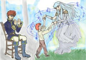 A happy family by zenil-kay
