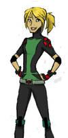X-men Evolution OC by Mk-Dragongirl