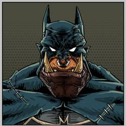 World of Warcraft x Batman crossover: Batorc. by Goddasaurus