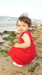 My niece by Miss-Yuki-James