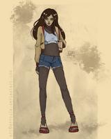 [Commission] Jess Wolf by Avvoula
