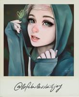 Polaroid Kat by Avvoula