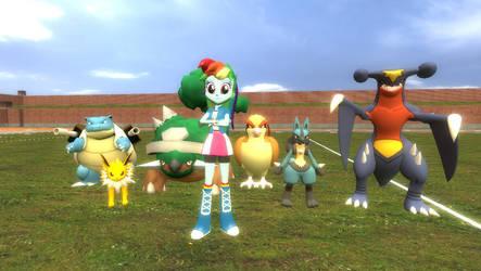 Rainbow's Pokemon Team by FcoMk513