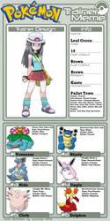 Headcanon AU Trainer Meme - Leaf by FcoMk513
