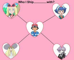 Who i Ship Ash With? by FcoMk513