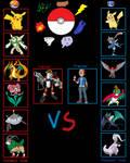 Pokemon Battle Meme - Gamma vs Ash by FcoMk513