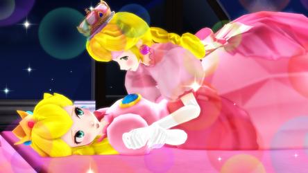 Peachette - You' re mine Princess! by DA-FcoMk513