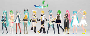 Model for Touch Fes 2014 - Vocaleek ISP Episode 01 by VocaloidImai