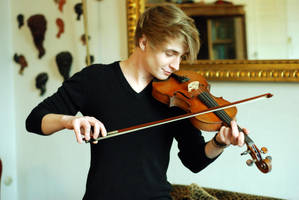 Male Violin Stock 1 by BirdsistersStock