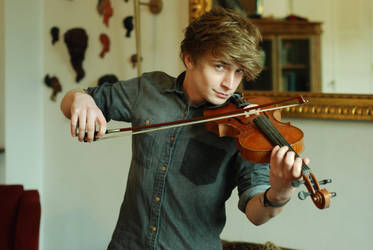 Male Violin Stock 4 by BirdsistersStock
