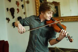 Male Violin Stock 5 by BirdsistersStock