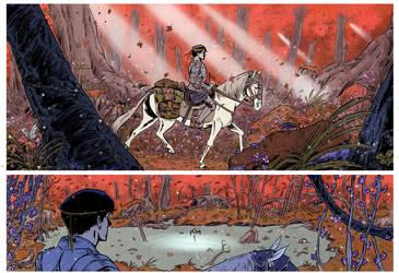fantasy short comic by valderrama