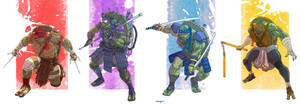 TMNT movie 2014 by valderrama