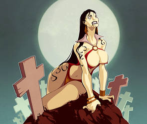 She is a Vamp by Diego Grosso by ArteX79