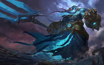 God of the sea by ZhangQipeng