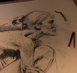 Closer - work in progress I - by Carnegriff
