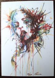 Choke - Postcard Piece by Carnegriff